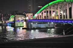 桥梁kachidoki 免版税库存照片