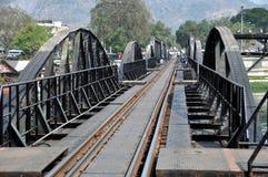 桥梁kanchaburi kwai河泰国 免版税图库摄影