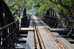 桥梁kanchaburi kwai河泰国 免版税库存图片