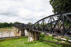 桥梁kanchanaburi kwai河泰国 库存照片