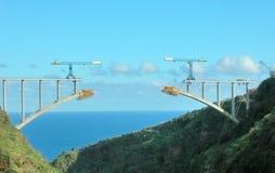 桥梁la palma 免版税图库摄影