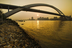 桥梁lupu 免版税库存照片