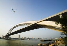 桥梁lupu 免版税库存图片