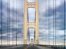 桥梁mackinaw 免版税库存照片