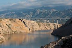 桥梁maslenica 库存照片
