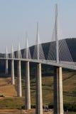 桥梁millau 库存照片