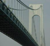 桥梁nyc verrazano 免版税库存照片