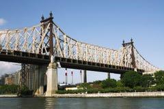 桥梁queensboro 免版税库存照片
