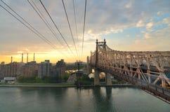 桥梁queensboro 免版税图库摄影