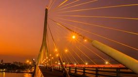 桥梁rama viii 图库摄影