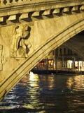 桥梁rialto 库存图片