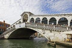 桥梁rialto 免版税库存照片