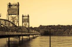 桥梁stillwater 免版税库存图片