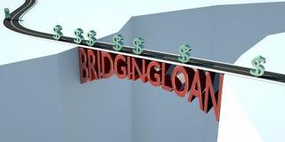 桥贷款 皇族释放例证