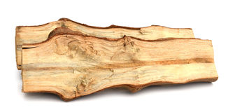 桦树木柴 免版税图库摄影