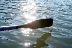 桨水 免版税库存图片
