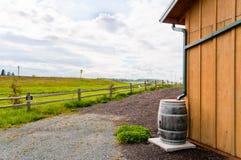 桶保护雨水 库存图片