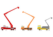桶卡车。 免版税图库摄影