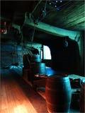 桶和大炮 库存照片