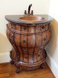 桶家庭内部豪华模型水槽 库存图片