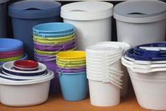 桶容器 库存图片