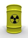 桶有毒废料 库存照片