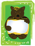 桶熊 库存图片