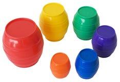 桶玩具 免版税图库摄影