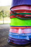 桶的被分类的颜色 免版税库存图片