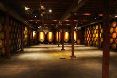 桶空间酿酒厂 库存照片