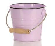 桶粉红色 库存照片