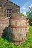 桶老木头 图库摄影