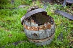 桶老木 库存图片