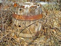 桶老生锈 库存图片
