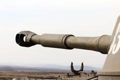 桶自走火炮、大口径,乌克兰和Donbass冲突 图库摄影