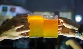桶装啤酒巴西党事件 图库摄影