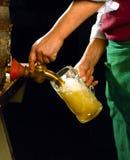 桶装啤酒 免版税库存图片