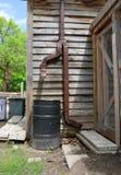 桶雨 免版税库存图片