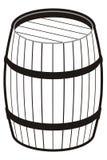 桶 向量例证