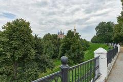 梁赞克里姆林宫,建立在17世纪 库存图片