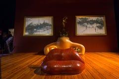 梅・蕙丝屋子在大理剧院在菲盖尔,在卡塔龙尼亚,温泉 库存图片
