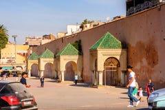 梅克内斯,摩洛哥 库存图片
