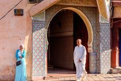梅克内斯,摩洛哥 库存照片
