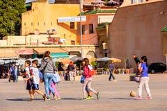 梅克内斯,摩洛哥 免版税库存图片
