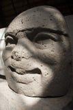 梅克文化La文塔比利亚埃尔莫萨塔巴斯科州墨西哥考古学 免版税图库摄影