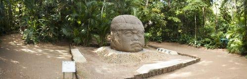 梅克文化La文塔比利亚埃尔莫萨塔巴斯科州墨西哥考古学 免版税库存图片