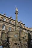 梅卡十字架1882和议会摆正,爱丁堡 免版税库存照片