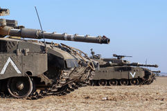 梅卡瓦坦克 免版税库存图片