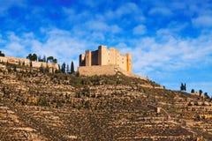 梅基嫩萨城堡  免版税图库摄影