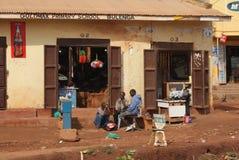 梅尔卡多在乌干达 免版税库存照片